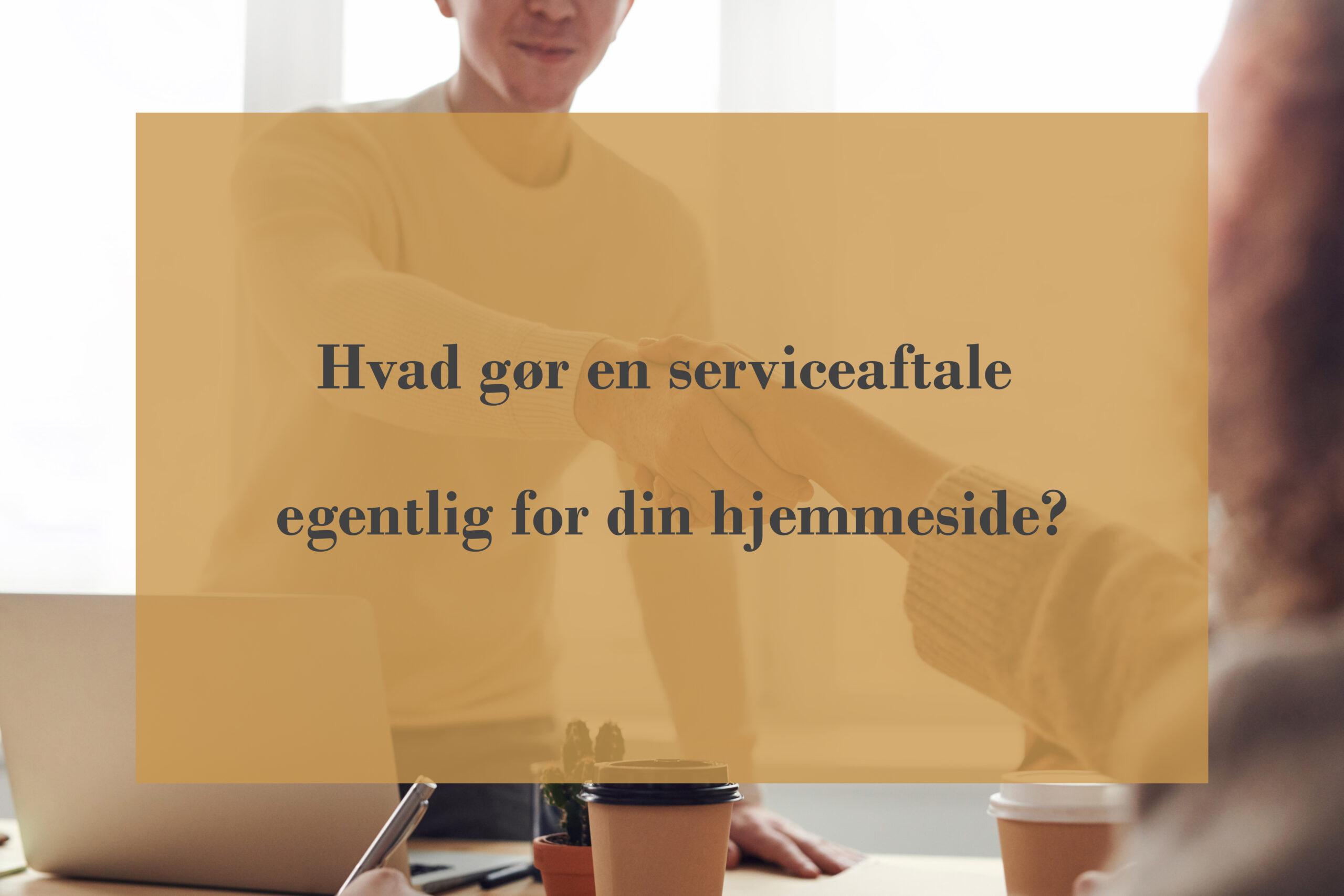 Serviceaftale