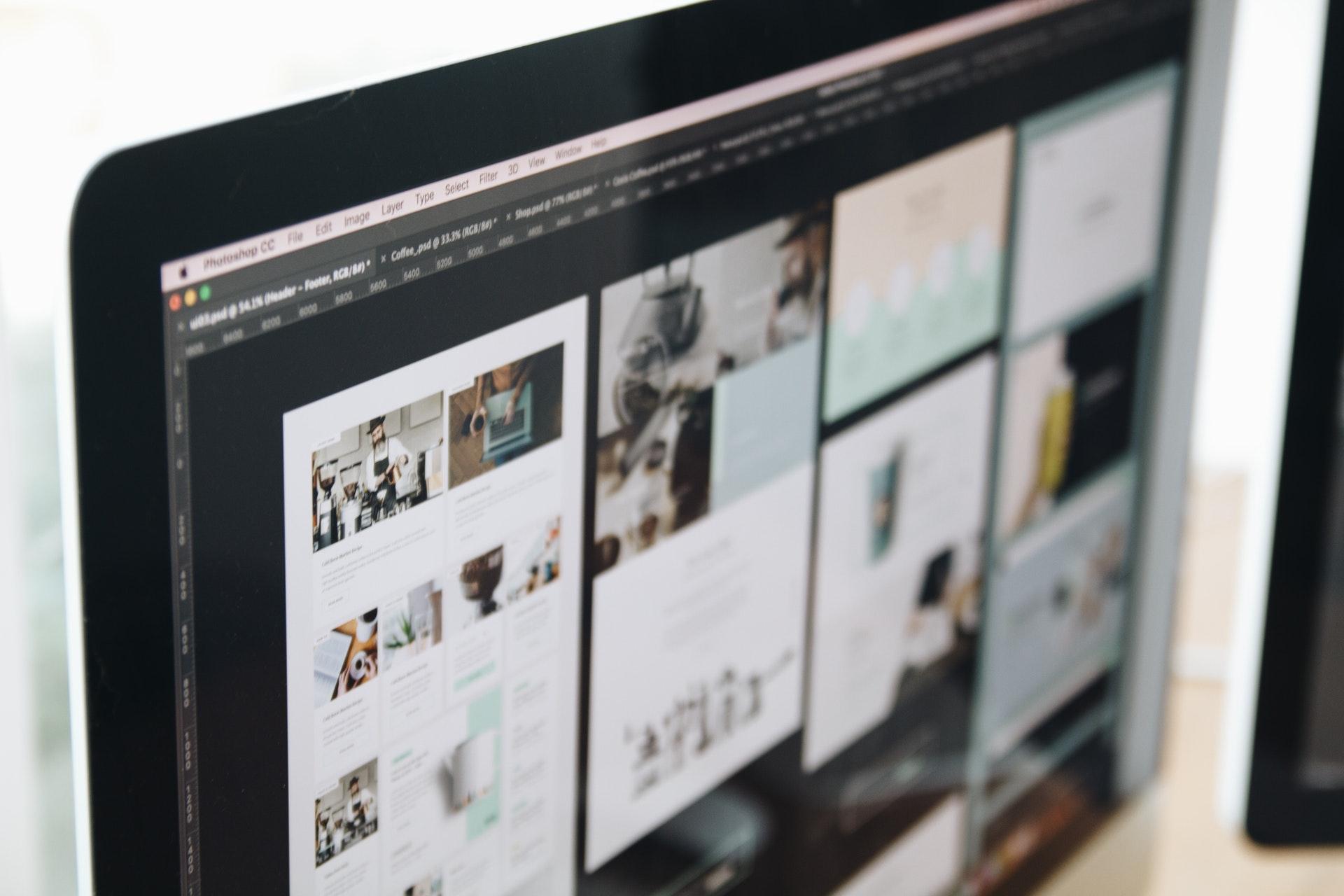 Jeg tilbyder webdesign